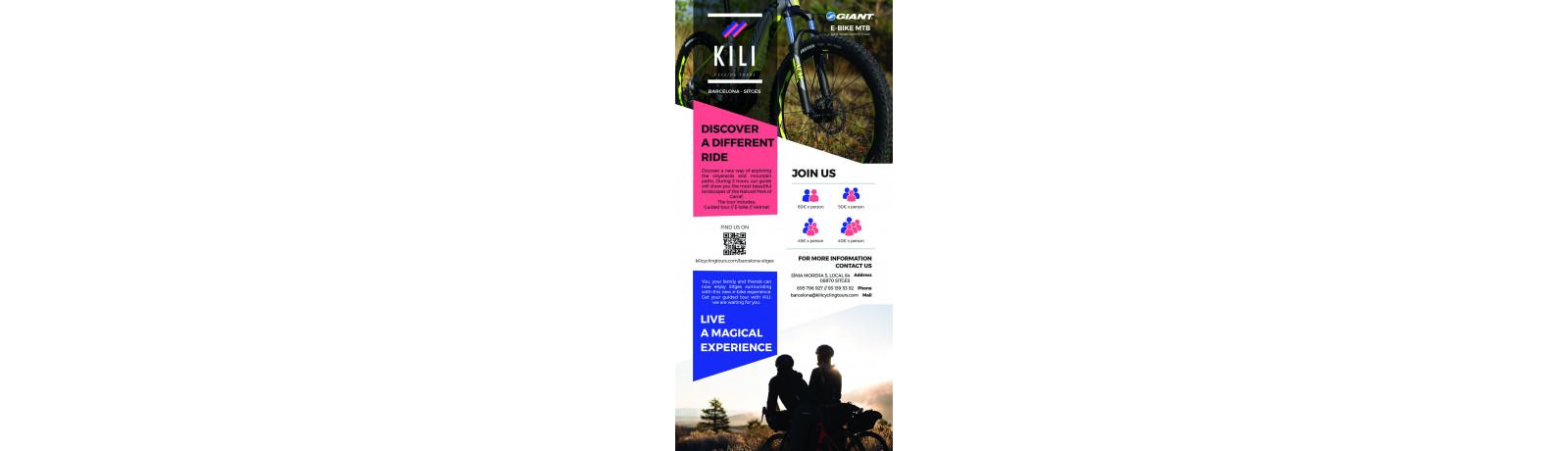 Vinyerards and Mountain Path (E-bike)